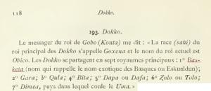 Excerpt from Abbadie's Géographie de l'Éthiopie (1890)