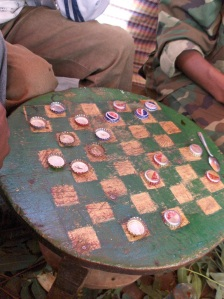 Playing draughts in Balts'a