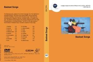 Jacket of the DVD 'Baskeet Songs' by Yvonne Treis